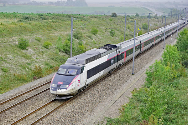 File photo of a TGV train in France. A feasibility study of bullet train service in the Northwest put an 'astronomical' price tag on construction costs.