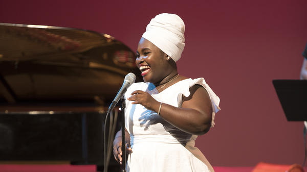 Dayme Arocena's performance at the San Jose Jazz Summer Fest is featured in this year's <em>Toast of the Nation</em>.