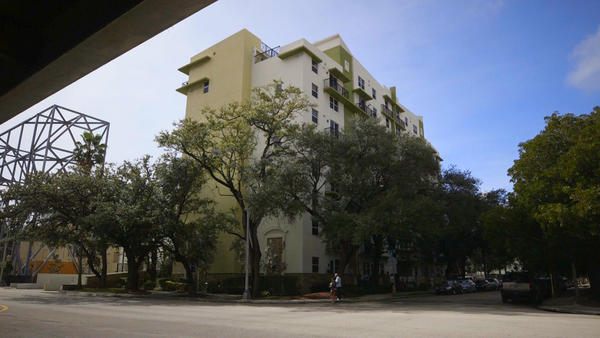 The $25 million Labre Place in Miami was built using the low-income housing tax credit program. It's named for the patron saint for the homeless and is now home to 90 low-income residents, about half of whom were once homeless.