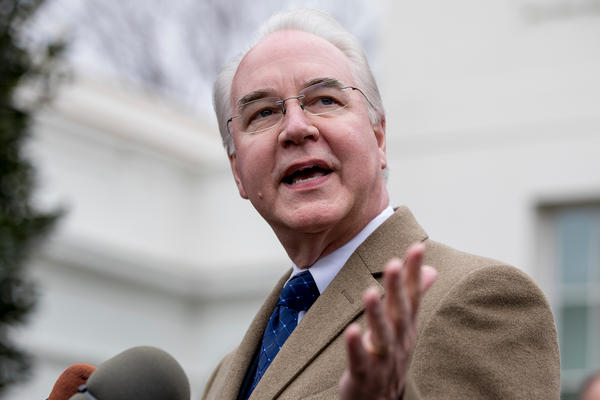 "Health and Human Services Secretary Tom Price says ""We're losing as a nation,"" when it comes to opioid abuse."