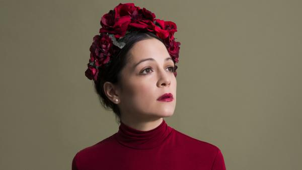 Mexico City singer-songwriter Natalia Lafourcade pays tribute to artists like Agustín Lara and Violeta Parra on her newest album, <em>Musas</em>, which was released May 5, 2017.