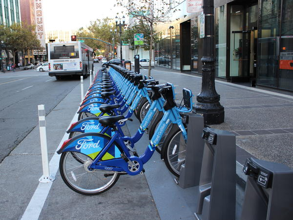 Ford GoBike launched its bike-sharing service in the Bay Area this year.