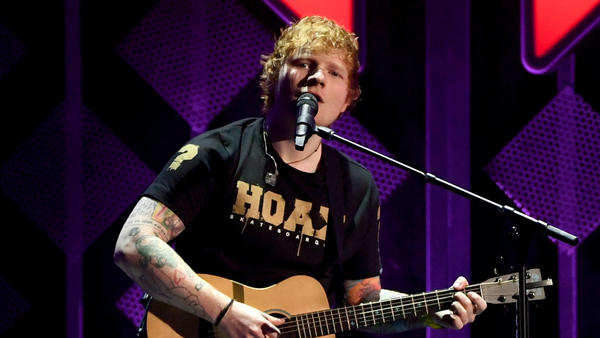 Ed Sheeran performs onstage during 102.7 KIIS FM's Jingle Ball 2017. Spotify reports Sheeran is the most-streamed artist of 2017.
