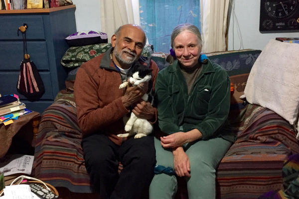 Portland residents Satish and Arlene Palshikar want to see the U.S. become less dependent on China for recycling.
