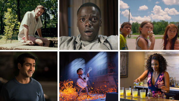 <em>Call Me By Your Name</em>, <em>Get Out, The Florida Project, The Big Sick, Coco</em> and <em>Girls Trip</em> all made NPR's top list.