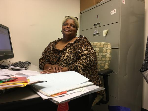 Debra Thompson is the volunteer chairwoman of Englewood Village, an organization that connects low-income older adults on the city's South Side with services from nutrition to job assistance to home repair.