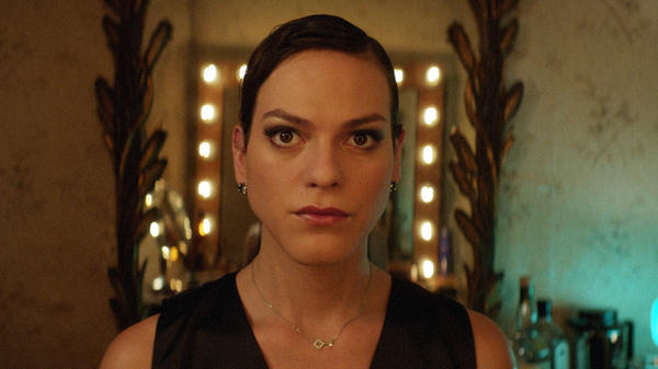 Transgender singer Marina (Daniela Vega) navigates the fallout of her boyfriend's sudden death in <em>A Fantastic Woman</em>.