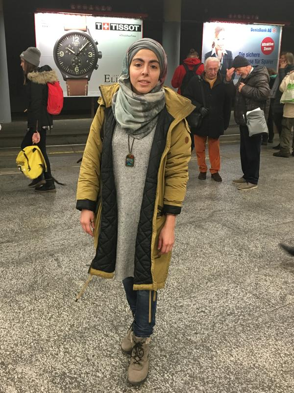 Elif Ozturk, 28, is a cultural anthropologist and Berlin native who has lived in Vienna for nearly a decade. She was accosted twice in the past 14 months on Viennese street cars by fellow female passengers who were offended by her veil.