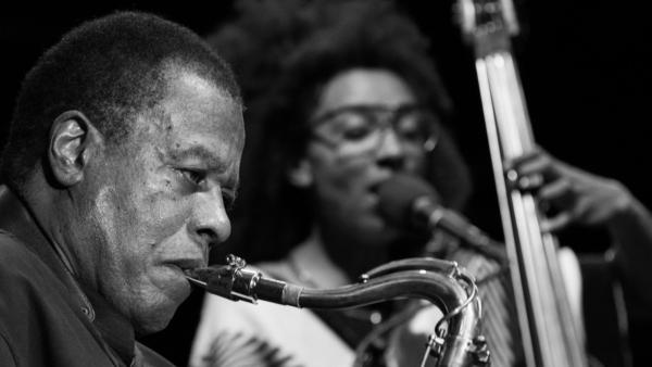 Wayne Shorter performs at the 2017 Detroit Jazz Festival.
