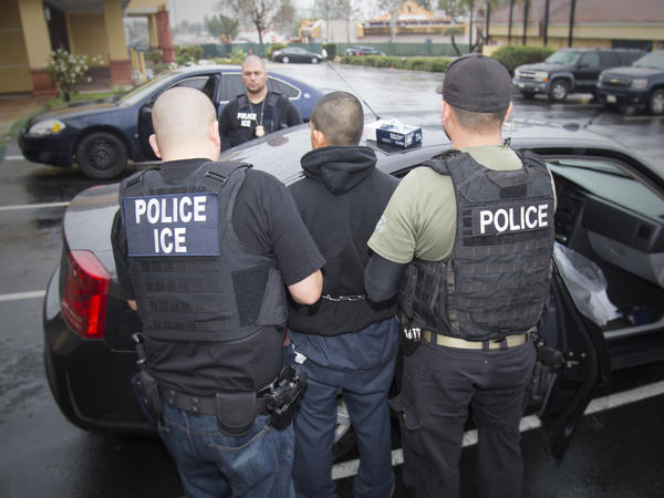 Arrests by Immigration and Customs Enforcement are up more than 40 percent since January.