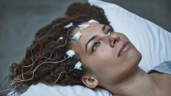 Disbelieved by doctors, Jennifer Brea turns the camera on herself to reveal the hidden world of ME, or chronic fatigue syndrome, in her film, <em>Unrest</em>.