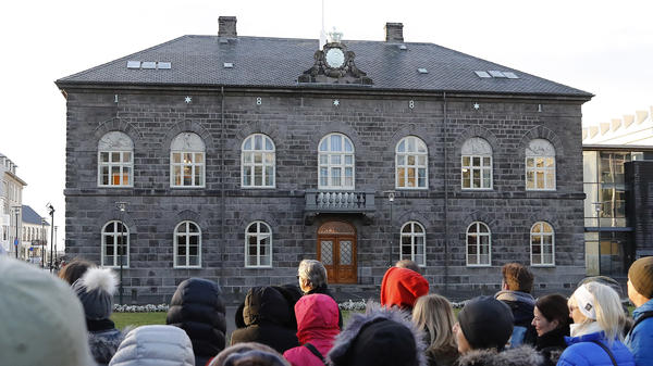 The pay equity law was passed — perhaps not coincidentally — a year after female candidates won nearly half the seats in Iceland's parliament, which is housed in the Althingishus in Reykjavík.