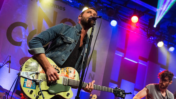 Mondo Cozmo performing live at WXPN's NON-COMMvention at World Cafe Live in Philadelphia, Pa.