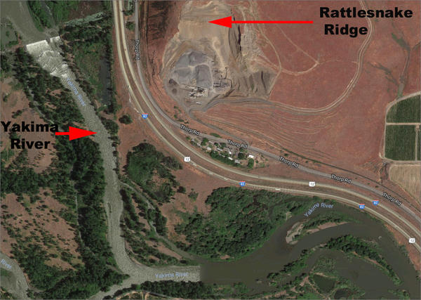 Due to the risk of a landslide at Rattlesnake Ridge, the Washington state Department of Ecology has asked the Anderson Quarry to clean up any toxic chemicals on the site as soon as possible.