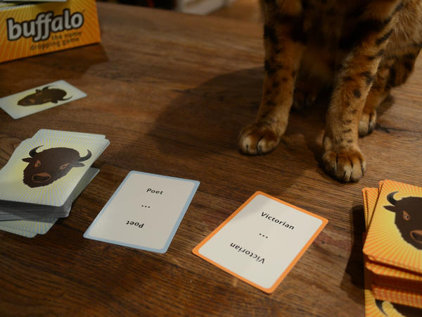 The game Buffalo prompts players to think of people that buck stereotypes, and subliminally challenges those stereotypes in the process.