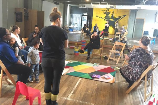 The Detroit Mama Hub offers education, services and co-work space for new and expected mothers