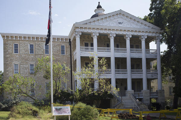 The Austin State Hospital.