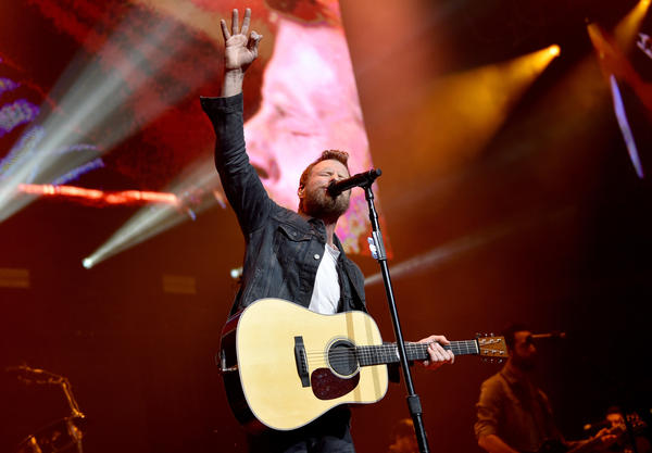 Dierks Bentley performs onstage for the Country Rising Benefit Concert in Nashville in November 2017.