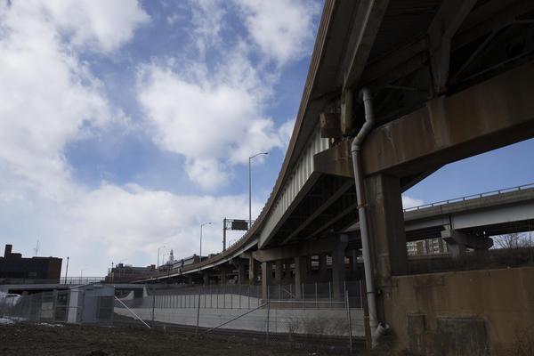 I-84 in Hartford in March 2017.