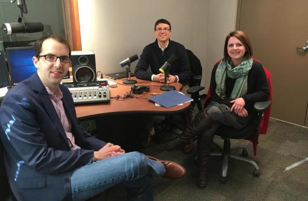 St. Louis Public Radio's Jason Rosenbaum interviewed state Reps. Kip Kendrick and Martha Stevens at KBIA studios in Columbia, Missouri.