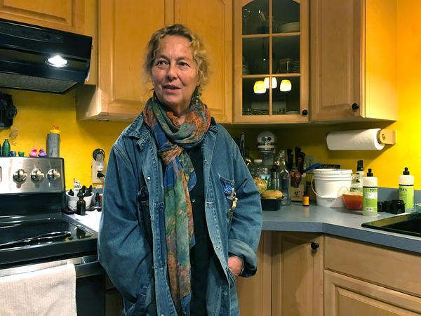 "MaryJane Sarvis, an artist in Shaftsbury, Vt., weaned herself from the opioid painkillers she was prescribed for chronic nerve pain. ""I felt tired all the time and I was still in pain,"" she says. Marijuana works better for her, but costs $200 per month out-of-pocket."