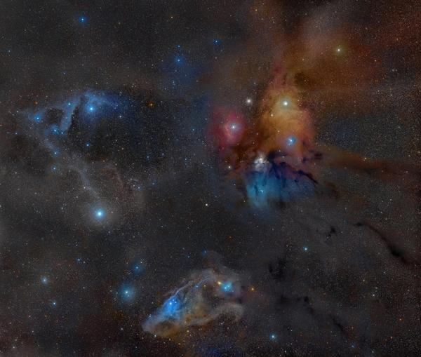 Amongst the many places Dr. Rachel Smith of the North Carolina Museum of Natural Sciences has observed young forming stars is the Rho Ophiuchi star system located only 400 light years away from Earth.