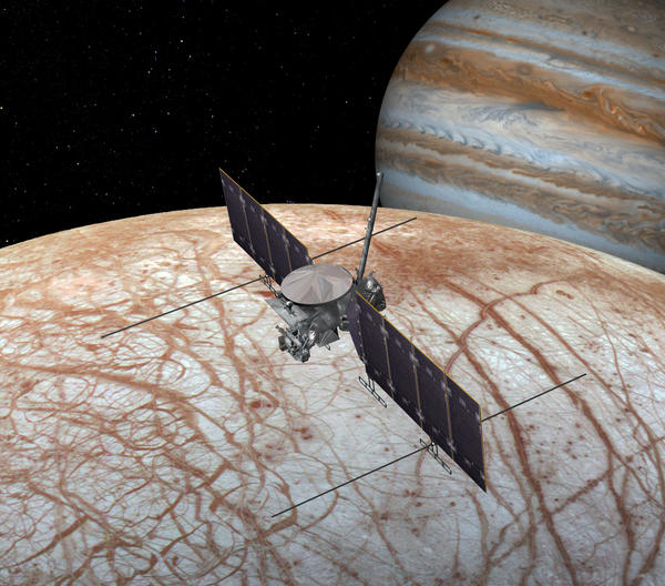 Dr. Murthy Gudipati of the NASA Jet Propulsion Laboratory is working on plans for the Europa Clipper mission which will explore whether Jupiter's moon Europa harbours a liquid ocean under its icy crust.