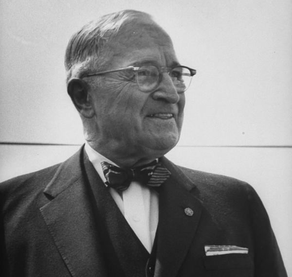 "President Harry S. Truman fought against a national origin quota system, saying it ""discriminates, deliberately and intentionally, against many peoples of the world."""