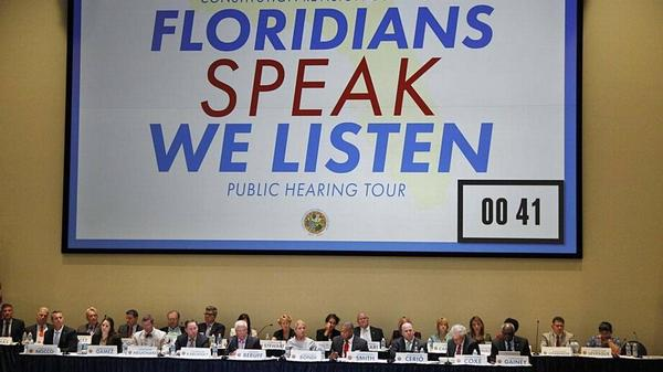 The Florida Constitutional Revision Commission meets every 20 years.