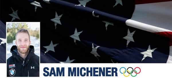 Gresham, Oregon, native Sam Michener was named to the US Olympic Men's Bobsled team