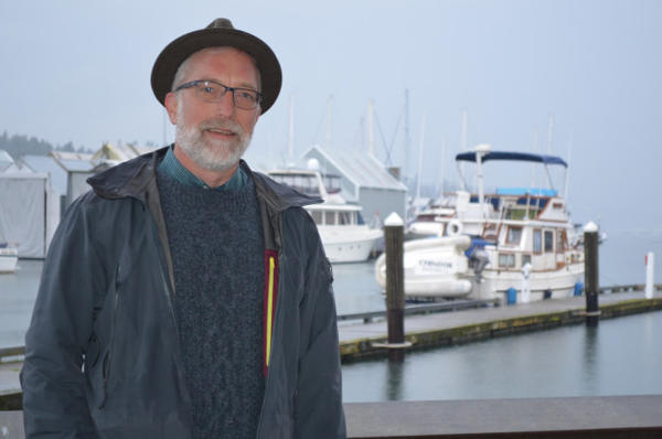 <p>Eric Christensen plans for sea level rise for the City of Olympia's Public Works Department.</p>