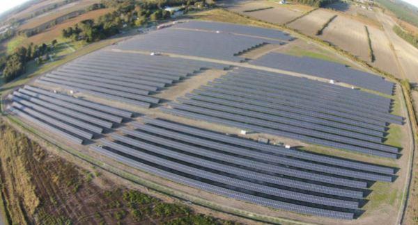 A solar array owned by Cypress Creek Renewables LLC