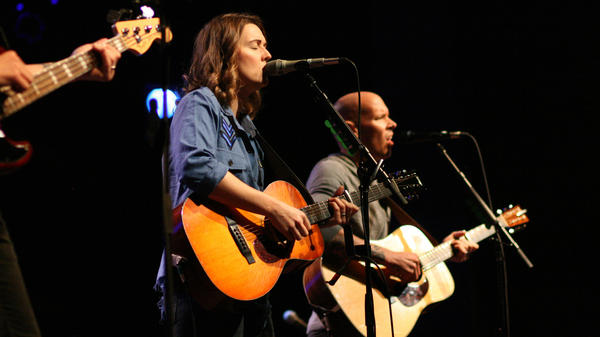 Brandi Carlile performs a live World Cafe Session at World Cafe Live in Philadelphia.