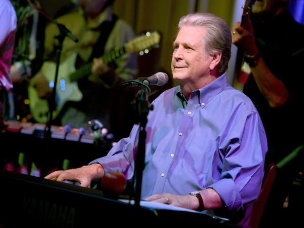 Singer and songwriter Brian Wilson performs in Los Angeles in 2015.