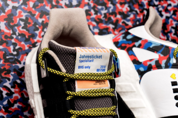 Sneaker company Overkill teamed up with Adidas and BVG, the German public transit authority, to create a shoe that has a built-in metro ticket.
