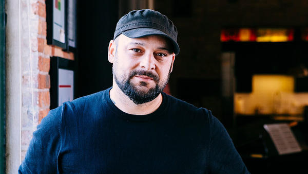 """It brings back a lot of shame,"" Christian Picciolini says of his time fronting a white power punk band. He has since disavowed the white supremacist movement and works to help others disengage from it too."