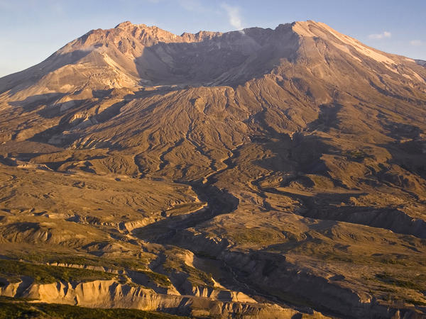 Mount St. Helens in August 2006.