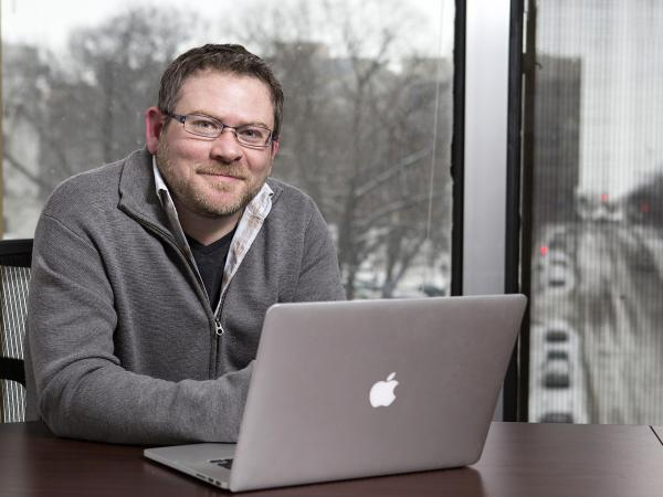 """""""We really don't have much of a social safety net, and that's terrifying,"""" says Matt Nelson, a freelance Web developer in Madison, Wis."""