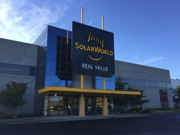 <p>SolarWorld Americas Inc. is headquartered in Hillsboro, Oregon.</p>