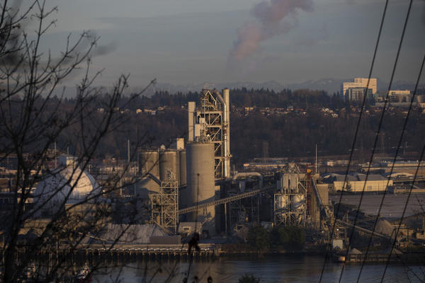 <p>Ash Grove Cement Company is shown on Tuesday, December 12, 2017, in Seattle. </p>