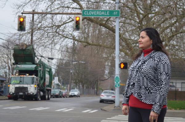 <p>Paulina Lopez lives in South Seattle and works on air pollution issues for a non-profit there.</p>