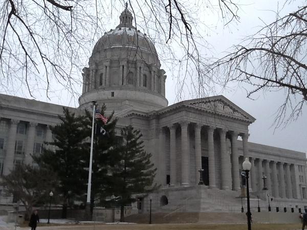 Missouri Capitol in Jefferson City