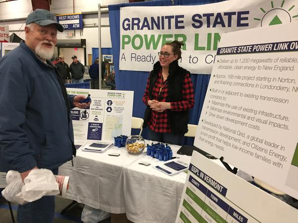 As part of its outreach, National Grid and its Granite State Power Link sponsored the Yankee Sportsman's Classic, an annual show that draws 15,000 for exhibits and workshops on hunting and angling.