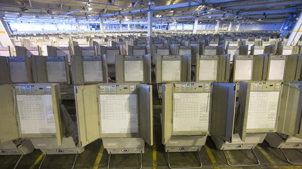 Pennsylvania is one of the states that mostly rely on antiquated voting machines that store votes electronically, without printed ballots or other paper-based backups that could be used to double-check the balloting. There's almost no way to know if they've accurately recorded individual votes, or if anyone tampered with the count.