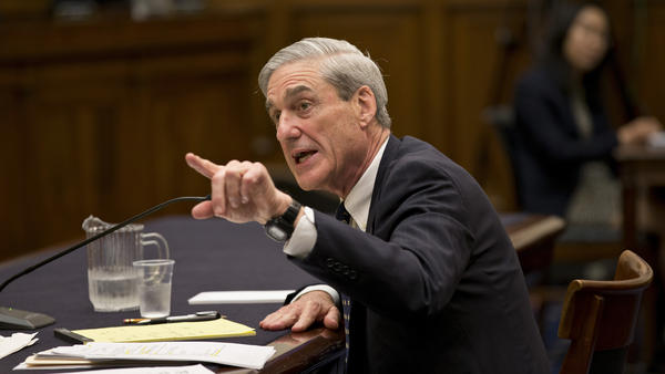 Firing Robert Mueller, testifying in 2013 when he was FBI director, may have been discussed at the White House, which may or may not affect the special counsel's investigation.