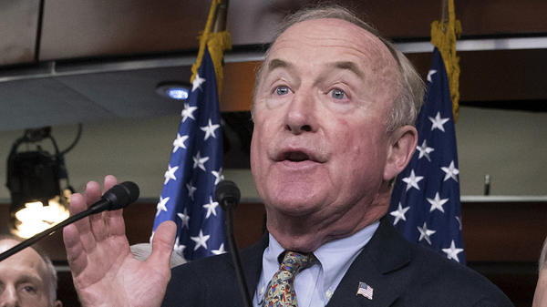 Rep. Rodney Frelinghuysen, R-N.J., chairman of the House Appropriations Committee, speaks at the Capitol last year. His retirement will open up a competitive district that only narrowly voted for President Trump.
