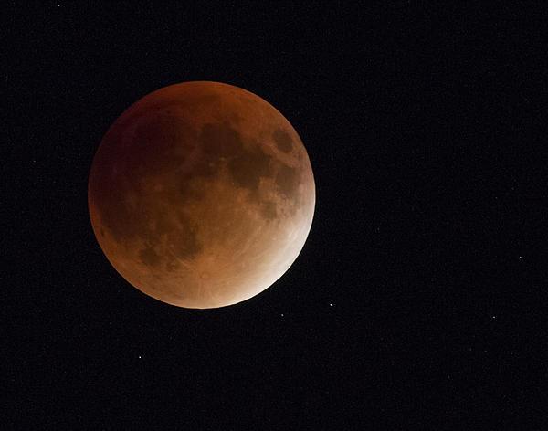 A blood moon.