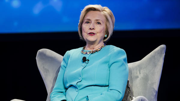 Hillary Clinton speaks at an event related to health care in Danville, Pa., last November.