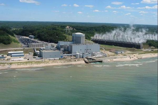 Palisades nuclear power plant in Michigan