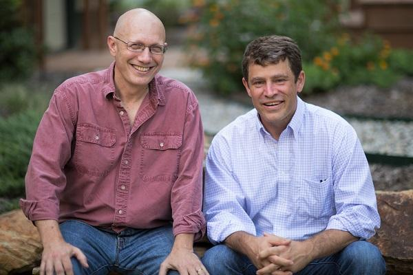 Dr. Donald Rosenstein and Dr. Justin Yopp, psychiatrists at the North Carolina Lineberger Comprehensive Cancer Center and the co-authors of 'The Group: Seven Widowed Fathers Reimagine Life.'